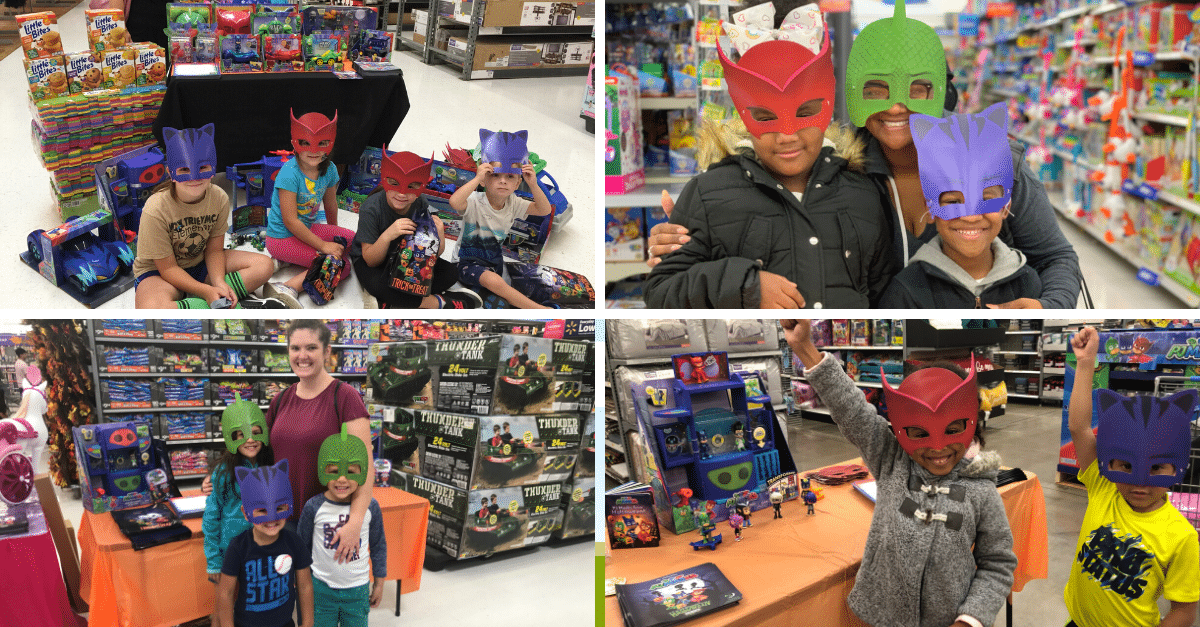 PJ Masks event in Walmart
