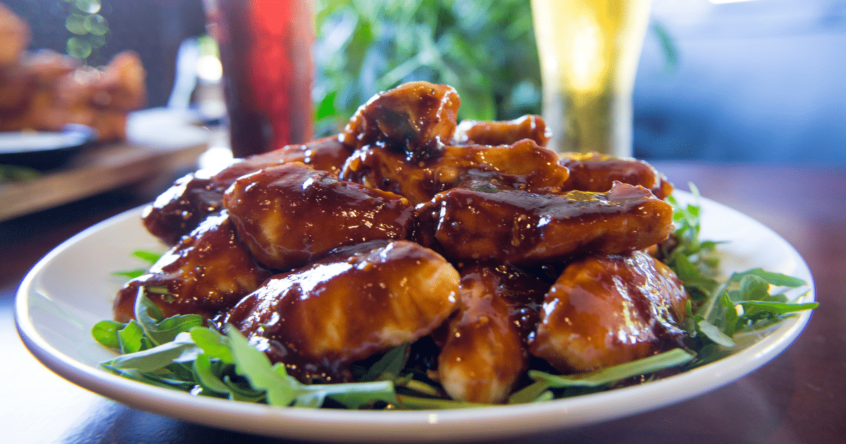 BBQ Candy Wings